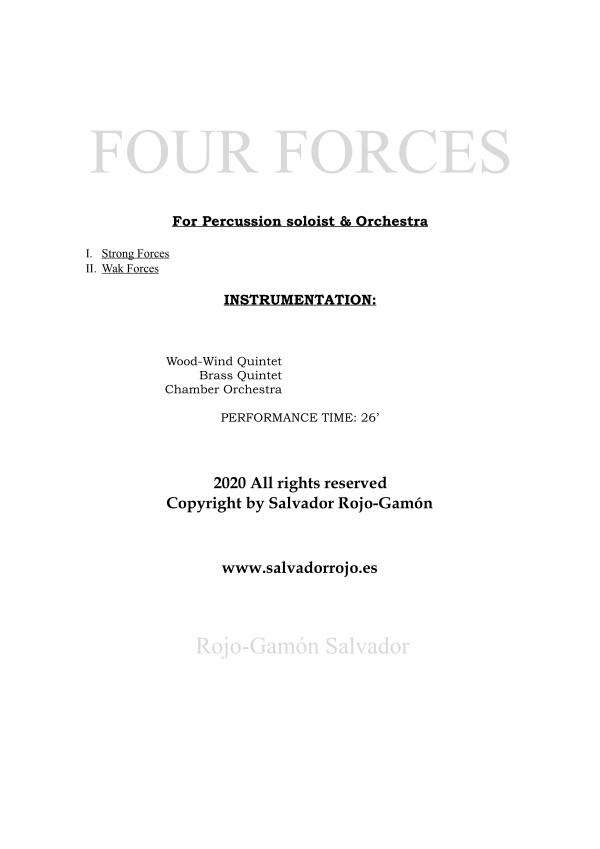 Four Forces-Salvador Rojo Gamón